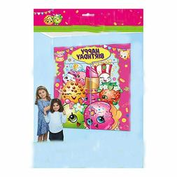 shopkins WALL BANNER DECORATING KIT  ~ Happy Birthday Party