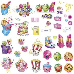 shopkins wall decals 39 new grocery stickers