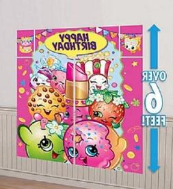 New Shopkins Wall Decoration Kit Giant Birthay Party Favor 5