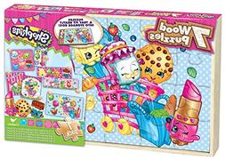 Shopkins Wood Puzzles 7-Pack by Cardinal