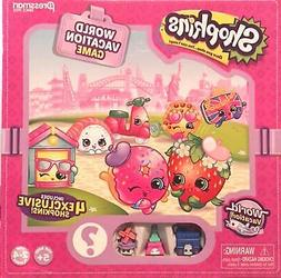 SHOPKINS WORLD VACATION GAME 2-4 Players Age 5+ ~ New in Box