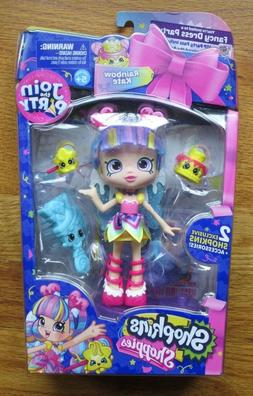 Shopkins Shoppies Join the Party Rainbow Kate doll - new