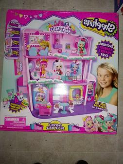 SHOPKINS SHOPPIES SHOPVILLE SUPER MALL LARGEST PLAYSET DOLL