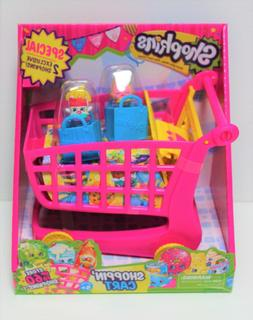 SHOPKINS SHOPPIN' CART XL PINK SEASON 1 TWO EXCLUSIVE 2014 B