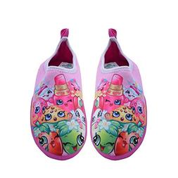 Shopkins Girls Slip-on Water Shoes in Pink, Size 13/1