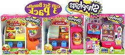 Shopkins So Cool Fridge, Spin Mix Bakery Stand and Easy Sque