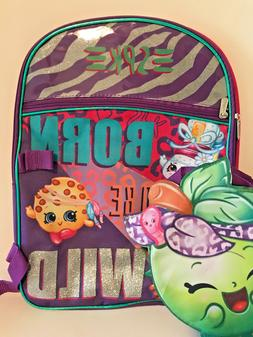 Shopkins SPK Born to be Wild Backpack with Insulated Lunchbo