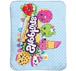 "Shopkins Stars 46"" x 60"" Silk Touch Throw"