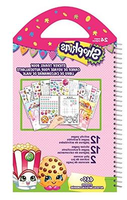 Shopkins Travel Sticker Book - 465 Plus Stickers!
