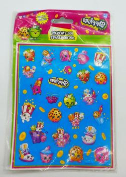Shopkins - Stickers- 4 Sheets - 100 Stickers