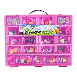 Fun For Life Storage Case with Carrying Handle, Strawberry /