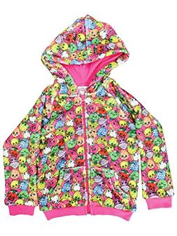 Shopkins Girls Super Soft Woobie All over Print Pink