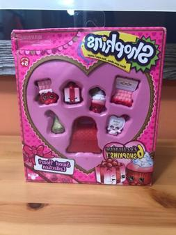 Shopkins Sweet Heart Collection 6 EXCLUSIVE Valentines Day C