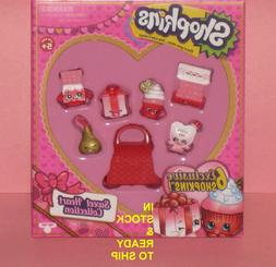 SHOPKINS SWEET HEART COLLECTION VALENTINES DAY 6 EXCLUSIVE S