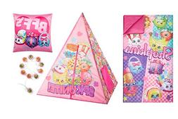 Shopkins Tee Pee Slumber Set