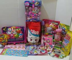 Shopkins Toy Candy  Filled Easter Eggs Basket Stuffers for