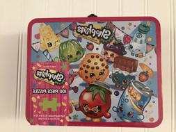 Pressman Toys Shopkins Assortment in Lunch Box Puzzle  new