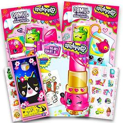 Shopkins Ultimate Coloring and Activity Book Set -- 3 Colori