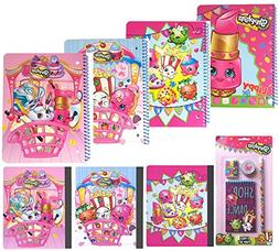 'Value pack Shopkins School Party Favors Gift Supplies 4 Spi