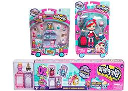 Shopkins World Vacation  - Britain Set - Jessicake with her